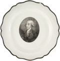 Political:3D & Other Display (pre-1896), James Madison: Liverpool Plate....