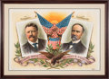 Political:Posters & Broadsides (1896-present), Roosevelt & Fairbanks: Absolutely Stunning Jugate Poster....