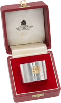 Political:Presidential Relics, Princess Diana and Prince Charles: Wedding Napkin Ring....