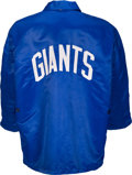 Football Collectibles:Uniforms, Mid-1960's Alex Webster Game Worn New York Giants Sideline Jacket. ...