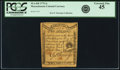Colonial Notes:Massachusetts, Massachusetts 1779 2 Shillings Fr. MA-268. PCGS Extremely Fine 45.. ...