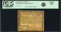 Colonial Notes:Massachusetts, State of Massachusetts May 5, 1780 $3 Fr. MA-280. PCGS About New 53.. ...