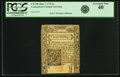 Colonial Notes:Connecticut, Colony of Connecticut June 7, 1776 3 Shillings Fr. CT-198. PCGS Extremely Fine 40.. ...