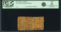 Colonial Notes:New Jersey, New Jersey July 2, 1746 15 Shillings Fr. NJ-61. PCGS Good 4 Apparent.. ...