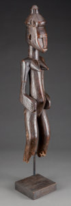 Tribal Art, SENUFO, Ivory Coast, Mali, Burkina Faso. Standing Female PostFigure...