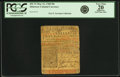 Colonial Notes:Delaware, Colony of Delaware May 31, 1760 50 Shillings Fr. DE-72. PCGS VeryFine 20 Apparent.. ...