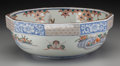 Asian:Japanese, A Japanese Imari Partial Gilt Porcelain Bowl. 4 inches high x11-1/8 inches diameter (10.2 x 28.3 cm). ...