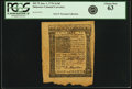 Colonial Notes:Delaware, Colony of Delaware January 1, 1776 2 Shillings 6 Pence Fr. DE-75.PCGS Choice New 63.. ...