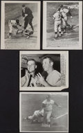 Baseball Collectibles:Photos, Mickey Mantle, Roger Maris and others Original Press Photographs Lot of 4....