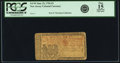 Colonial Notes:New Jersey, New Jersey June 22, 1756 3 Pounds Fr. NJ-99. PCGS Fine 15Apparent.. ...