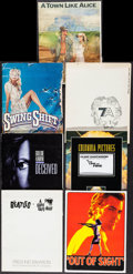 """Movie Posters:Rock and Roll, A Hard Day's Night & Others Lot (Universal, R-1982). Presskits (7) (Approx. 9"""" X 12"""", 9.5"""" X 11.5""""). Rock and Roll.. ... (Total: 7 Items)"""