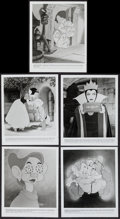 "Movie Posters:Animation, Snow White and the Seven Dwarfs (Buena Vista, R-1987). Photo Sets of 5 (2) (8"" X 10"") Set B. Animation.. ... (Total: 10 Items)"
