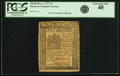 Colonial Notes:Delaware, Colony of Delaware May 1, 1777 4 Shillings Fr. DE-88. PCGSExtremely Fine 40.. ...
