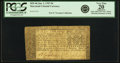 Colonial Notes:Maryland, Maryland January 1, 1767 $4 Fr. MD-46. PCGS Very Fine 20 Apparent.....