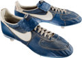Baseball Collectibles:Others, 1980's Andre Dawson Game Worn Cleats. ...