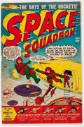 Golden Age (1938-1955):Science Fiction, Space Squadron #1 (Atlas, 1951) Condition: VG+....