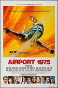 "Movie Posters:Action, Airport 1975 & Other Lot (Universal, 1974). One Sheets (2) (27""X 41"") Flat Folded. Action.. ... (Total: 2 Items)"