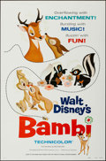 """Movie Posters:Animation, Bambi & Other (Buena Vista, R- 1975). One Sheets (2) (27"""" X41"""") Flat Folded Style A. Animation.. ... (Total: 2 Items)"""
