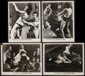 """Movie Posters:Sexploitation, The Festival Girls (Olympic International, 1962). Photos (3) &Trimmed Photo (Approx. 8"""" X 10""""). Sexploitation.. ... (Total: 4Items)"""