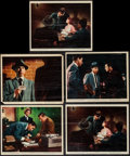 "Movie Posters:Crime, Dragnet (Warner Brothers, 1954). Color Photos (5) (8"" X 10""). Crime.. ... (Total: 5 Items)"