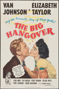 "The Big Hangover (MGM, 1950). One Sheet (27"" X 41""). Comedy"