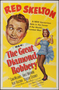 """Movie Posters:Comedy, The Great Diamond Robbery (MGM, 1953). One Sheet (27"""" X 41""""). Comedy.. ..."""