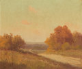 Fine Art - Painting, American:Modern  (1900 1949)  , Porfirio Salinas (American, 1910-1973). Fall Landscape. Oilon canvas. 25-1/2 x 30-1/2 inches (64.8 x 77.5 cm). Signed l...