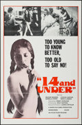 """Movie Posters:Adult, 14 and Under & Others Lot (Atlas, 1973). One Sheets (3) (27"""" X 41"""") Flat Folded. Adult.. ... (Total: 3 Items)"""
