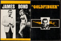 "Movie Posters:James Bond, Goldfinger (Program Publishing, 1965). Program (20 Pages, 9"" X12""). James Bond.. ..."