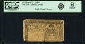 Colonial Notes:New York, Colony of New York April 20, 1756 5 Pounds Fr. NY-151. PCGS Fine 15Apparent.. ...