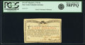 Colonial Notes:New York, New York Water Works March 5, 1776 8 Shillings Fr. NY-197. PCGSChoice About New 58PPQ.. ...