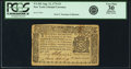 Colonial Notes:New York, New York August 13, 1776 $3 Fr. NY-203. PCGS Very Fine 30Apparent.. ...
