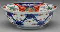 Asian:Japanese, A Japanese Imari Porcelain Hexagonal Bowl, 20th century. 2-1/4inches high x 6-1/2 inches diameter (5.7 x 16.5 cm). Proven...
