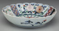 Asian:Japanese, A Japanese Imari Porcelain Fluted Bowl, early 20th century. Marks:(six-character mark). 2-1/2 inches high x 9-1/2 inches di...