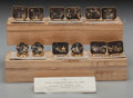 Paintings, A Set of Twelve Japanese Damascene Ware Napkin Rings, 20th century. 1 inch high (2.5 cm) (largest). Provenance: Ethry Shaw... (Total: 12 Items)