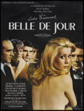 """Movie Posters:Drama, Belle De Jour (Allied Artists, R-1995). French Grande (47"""" X 63"""").Drama. ..."""