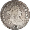 Early Dimes, 1798/97 10C 13 Stars on Reverse--Scratched--NCS. AG Details....