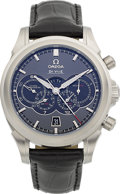 Timepieces:Wristwatch, Omega DeVille Olympic Collection Chronoscope Co-Axial 4-Counters Chronograph. ...