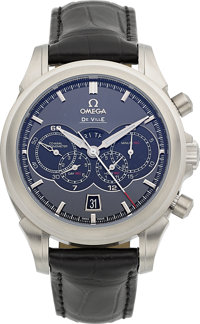 Omega DeVille Olympic Collection Chronoscope Co-Axial 4-Counters Chronograph