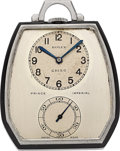 Timepieces:Pocket (post 1900), Rolex Prince Imperial Ref. 1585 Art Deco Pocket Watch. ...