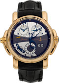Timepieces:Wristwatch, Ulysse Nardin Sonata Cathedral 18k Rose Gold Wristwatch Ref. 676-88. ...