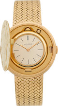 Timepieces:Wristwatch, Juvenia $20 Gold Coin Bracelet Watch. ...