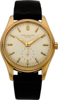 Timepieces:Wristwatch, Patek Philippe Important Calatrava Ref. 2526 With Very RareLuminous Hand & Index Dial. ...