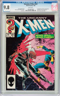 Modern Age (1980-Present):Superhero, X-Men #201 (Marvel, 1986) CGC NM/MT 9.8 White pages....