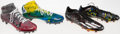 Football Collectibles:Others, 2016 Ezekiel Elliott Sprint Shoes and Cleats Worn in the NFL Scouting Combine....