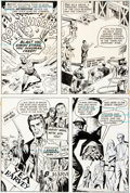 Original Comic Art:Complete Story, John Calnan Action Comics #415 Metamorpho Lot of 6 Pages(DC, 1972)....