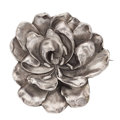 Estate Jewelry:Brooches - Pins, Sterling Silver Brooch. ...