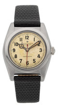 Timepieces:Wristwatch, Rolex Ref. 2940 Steel Bubble Back, circa 1943. ...