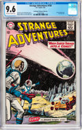 Silver Age (1956-1969):Science Fiction, Strange Adventures #150 Don/Maggie Thompson Collection Pedigree(DC, 1963) CGC NM+ 9.6 Off-white to white pages....
