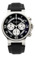 Timepieces:Wristwatch, Asprey The No. 8 Chronograph Wristwatch. ...